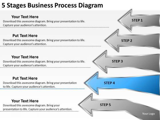 PowerPoint Presentation Process Diagram Financial Business Plan Templates