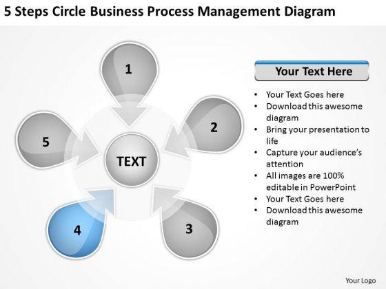 PowerPoint Presentation Process Management Diagram Ppt Writing Business Plans Slides