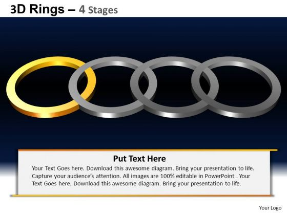 PowerPoint Presentation Process Rings Ppt Layouts