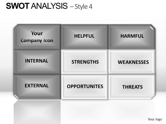 PowerPoint Presentation Process Swot Analysis Ppt Theme