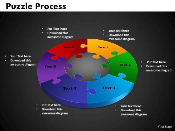 PowerPoint Presentation Puzzle Process Editable Ppt Slide Designs