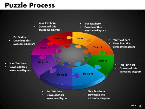 PowerPoint Presentation Puzzle Process Graphic Ppt Slides