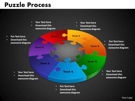PowerPoint Presentation Puzzle Process Marketing Ppt Slide Designs
