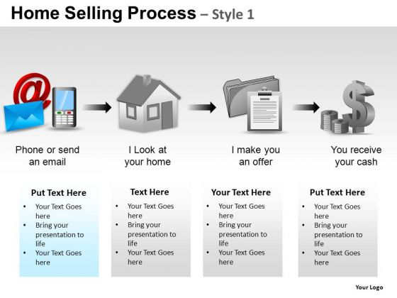 PowerPoint Presentation Sales Home Selling Ppt Slides
