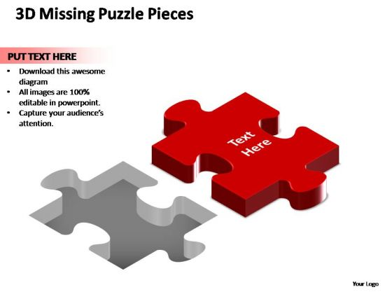 PowerPoint Presentation Sales Missing Puzzle Piece Ppt Themes
