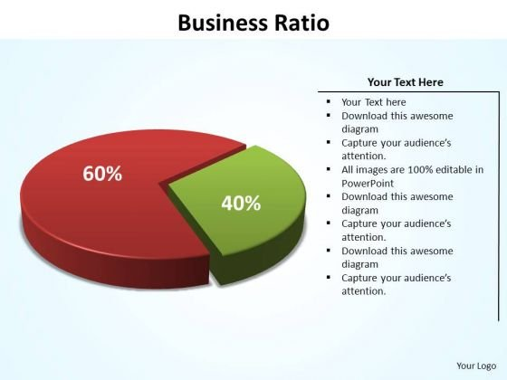 PowerPoint Presentation Strategy Business Ratio Ppt Slides