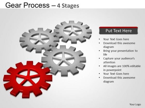 PowerPoint Presentation Strategy Gears Ppt Slide Designs
