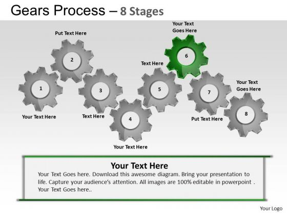 PowerPoint Presentation Strategy Gears Process Ppt Designs