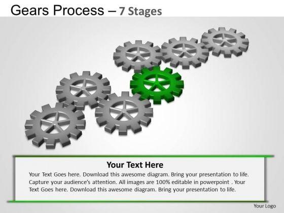 PowerPoint Presentation Strategy Gears Process Ppt Slide Designs