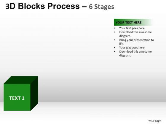 PowerPoint Presentation Success Blocks Process Ppt Design