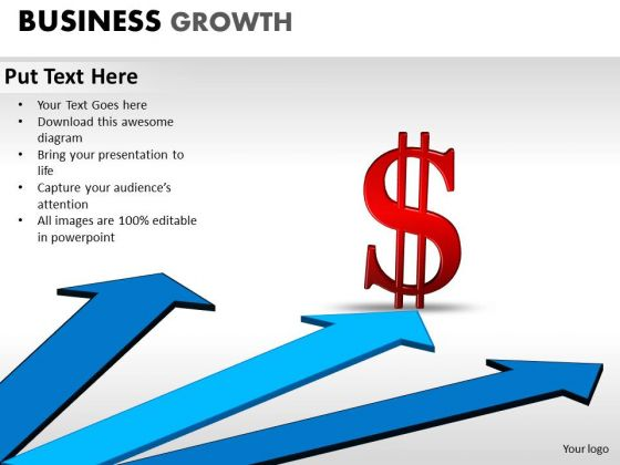 PowerPoint Presentation Success Business Growth Ppt Slidelayout