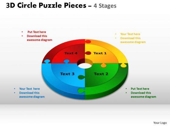 PowerPoint Presentation Success Circle Puzzle Ppt Designs