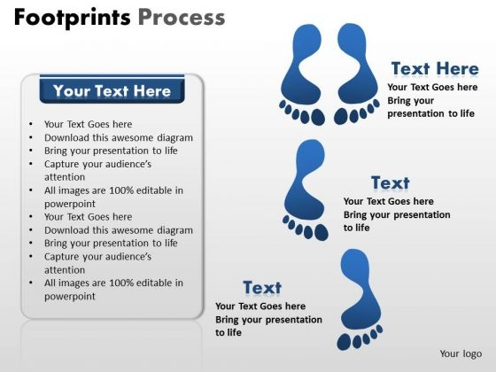 PowerPoint Presentation Success Footprints Ppt Themes