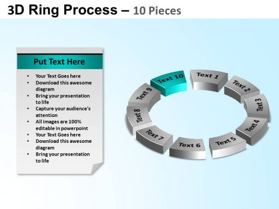 PowerPoint Presentation Success Ring Process Ppt Template