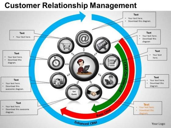 PowerPoint Presentation Teamwork Customer Relationship Ppt Slide