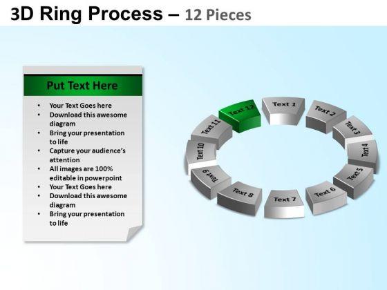 PowerPoint Presentation Teamwork Ring Process Ppt Template