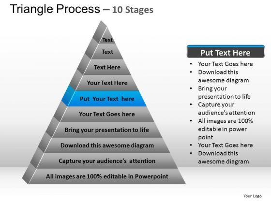 PowerPoint Presentation Teamwork Triangle Process Ppt Presentation Designs