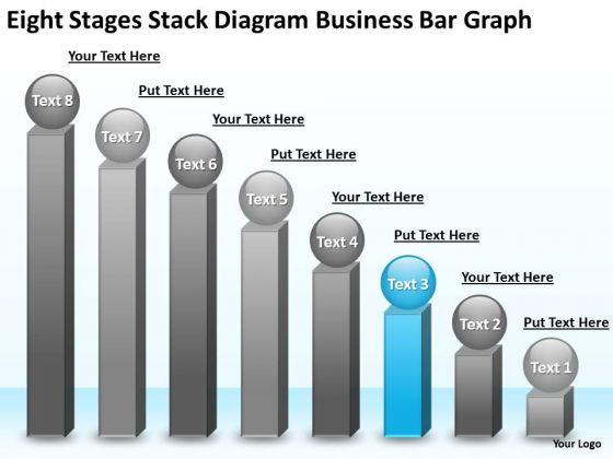 PowerPoint Presentations Bar Graph Business Plan Templates
