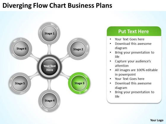PowerPoint Presentations Plans 6 Stages Business Slides