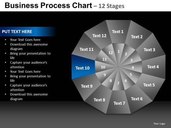 PowerPoint Process Business Chart Ppt Designs