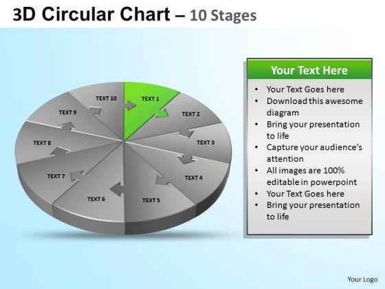 PowerPoint Process Business Circular Ppt Design