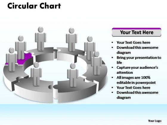 PowerPoint Process Business Circular Ppt Slide Designs