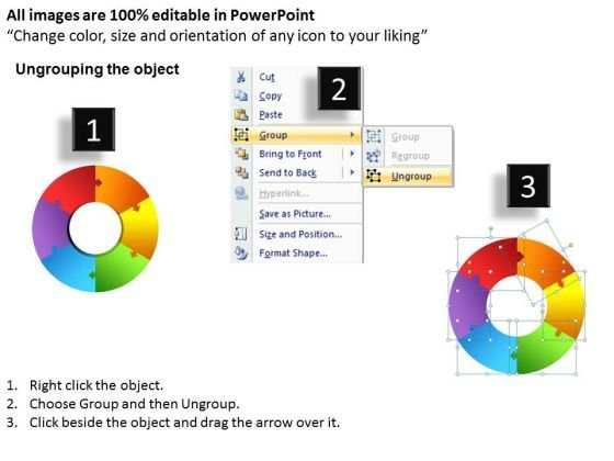 powerpoint_process_business_circular_puzzle_ppt_slide_2