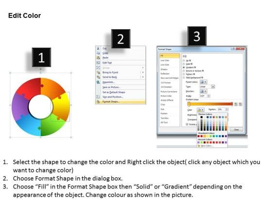 powerpoint_process_business_circular_puzzle_ppt_slide_3