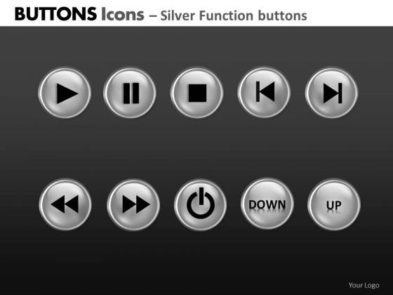 PowerPoint Process Business Education Buttons Icons Ppt Theme