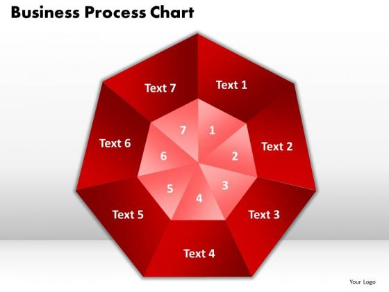 PowerPoint Process Business Process Chart Marketing Ppt Slides