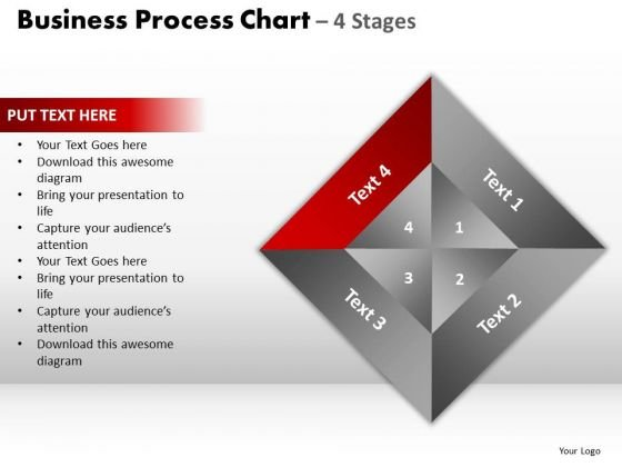 PowerPoint Process Chart Business Process Ppt Presentation