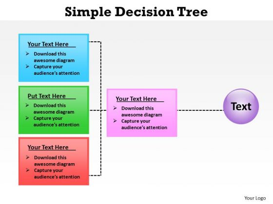Decision Trees PowerPoint templates backgrounds Presentation – Decision Tree Template