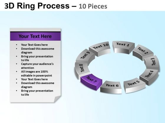 PowerPoint Process Circle Chart Ring Process Ppt Designs