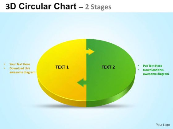PowerPoint Process Company Circular Ppt Design