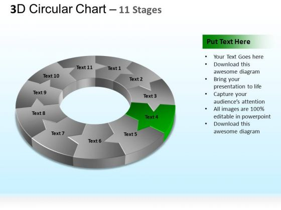 PowerPoint Process Company Circular Ppt Themes
