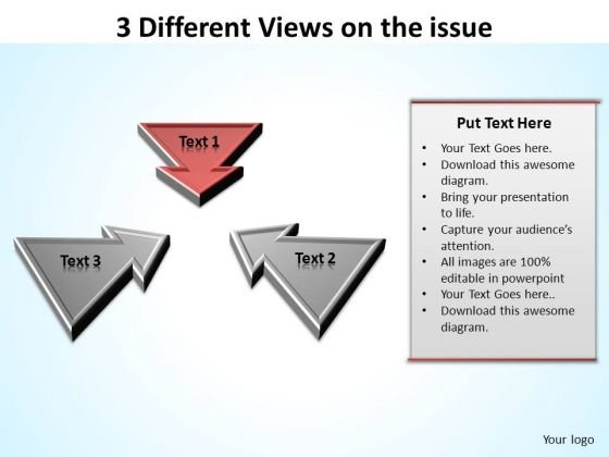 PowerPoint Process Company Different Views Ppt Slides