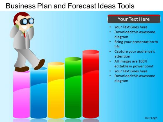 PowerPoint Process Company Growth Targets Business Plan Ppt Slide