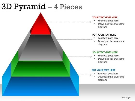 PowerPoint Process Company Pyramid Ppt Slide