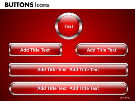 PowerPoint Process Corporate Designs Buttons Icons Ppt Design Slides