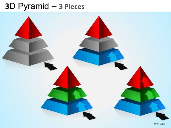 PowerPoint Process Corporate Growth Pyramid Ppt Slidelayout