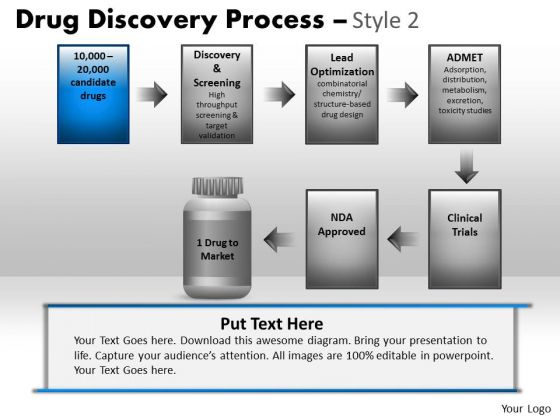 PowerPoint Process Corporate Strategy Drug Discovery Process Ppt ...