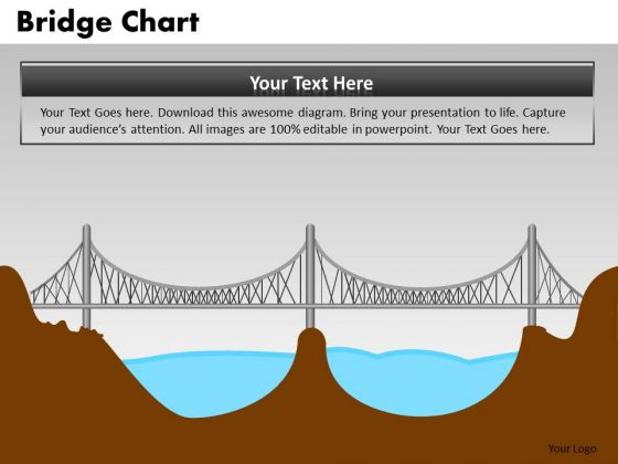 PowerPoint Process Diagram Bridge Chart Ppt Theme