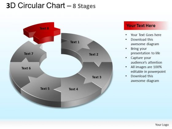 PowerPoint Process Diagram Circular Chart Ppt Design