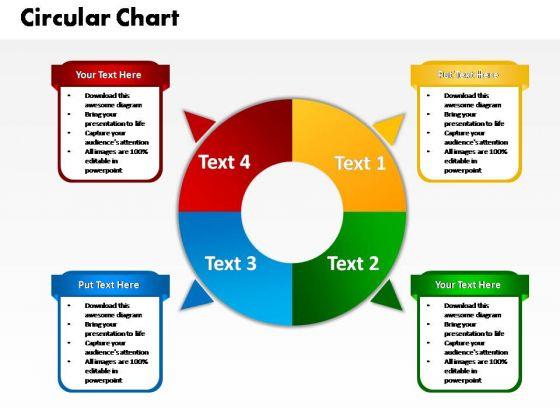 PowerPoint Process Diagram Circular Mode Ppt Slide Designs
