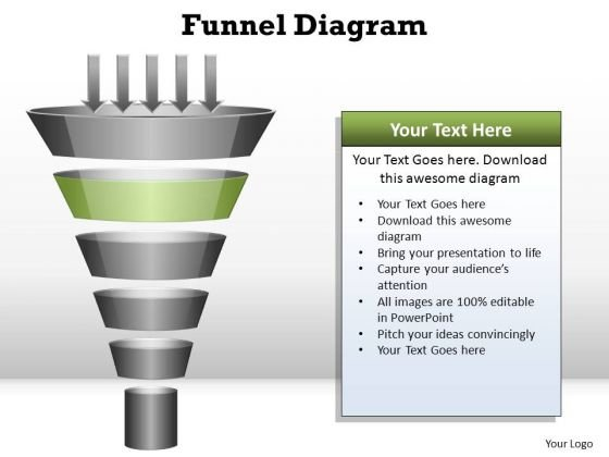 PowerPoint Process Diagram Funnel Diagram Ppt Templates