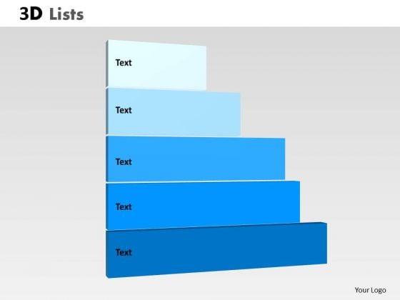 PowerPoint Process Diagram List Ppt Slide