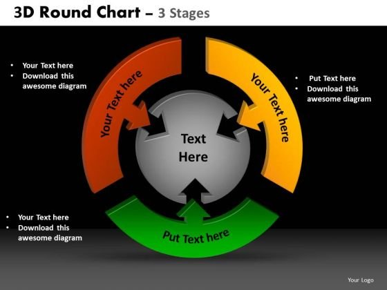 PowerPoint Process Diagram Round Chart Ppt Design