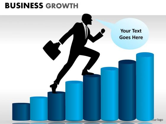 PowerPoint Process Download Business Growth Ppt Presentation