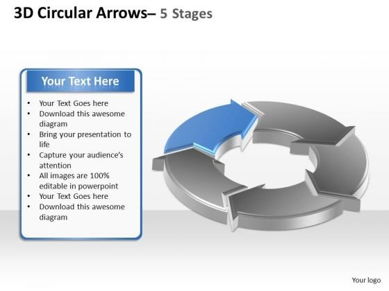 PowerPoint Process Download Circular Arrows Ppt Presentation