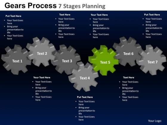 PowerPoint Process Download Gears Process Ppt Backgrounds